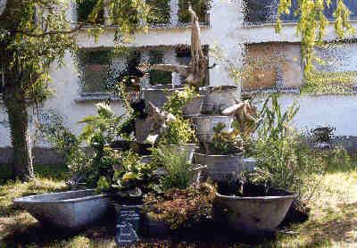 Gartendesign gartenplanung galabau gartengestaltung - Zinkwanne dekorieren ...
